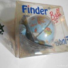 Puzzli: ANTIGUA BOLA DEL MUNDO FINDER TIPO CUBO DE RUBIK. Lote 228462665