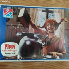 Puzzles: PUZZLE PIPI CALZASLARGAS 3 PUZZLES 1975. Lote 208866613