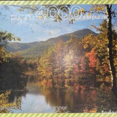 Puzzli: PUZZLE 4000 + FIX PUZZLE. NEW HAMPSHIRE. USA. INTERIOR PRECINTADO. NUEVO. EDUCA. VER FOTOS. Lote 209096375