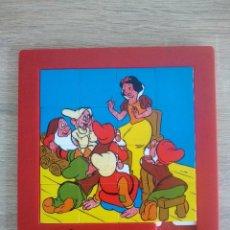Puzzles: PUZZLE BLANCA NIEVES - PIEZAS MOVILES - WALT DISNEY - ANDREFER - 20 X 17CM. Lote 209733907