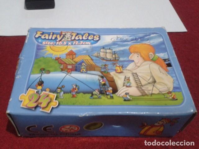 Puzzles: MINI ROMPECABEZAS - MINI-PUZZLE 24 PIEZAS MIDE 16,8 X 12,3 CM ( FAIRY TALES - Los viajes de Gulliver - Foto 2 - 209798381