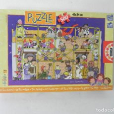 Puzzles: PUZZLE LES TRES BESSONES-LAS TRES MELLIZAS (500 PIEZAS - 48X34) EDUCA (COMPLETO). Lote 210124730