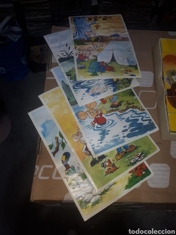 Puzzles: Antiguo puzzle de cubos TOPO GIGIO MARIA PEREGO 1973 EDIGRAF COMPLETO - Foto 2 - 211269136
