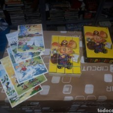 Puzzles: ANTIGUO PUZZLE DE CUBOS TOPO GIGIO MARIA PEREGO 1973 EDIGRAF COMPLETO. Lote 211269136