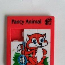 Puzzli: FANCY ANIMAL ROMPECABEZAS MINI PUZZLE ANTIGUO. Lote 211557136