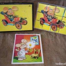 Puzzles: ANTIGUO PUZZLE TOPO GIGIO. EDIGRAF, BARCELONA.. Lote 211695763