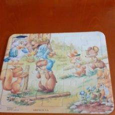 Puzzles: PUZZLE INFANTIL DE CARTON AÑOS 80. Lote 211835998