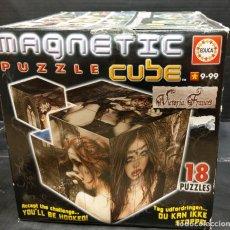 Puzzles: MAGNÉTIC PUZZLE CUBE VICTORIA FRANCES DE EDUCA. Lote 238694600