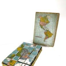 Puzzles: PUZZLE DE CUBOS DEL MAPAMUNDI. Lote 213163327