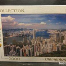 Puzzles: PUZZLE 2000 PIEZAS HONG KONG CLEMENTONI PRECINTADO. Lote 213167073