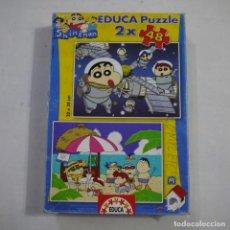 Puzzles: PUZZLE SHIN CHAN 2X48 20X28 CM - EDUCA. Lote 213584453