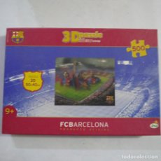 Puzzles: PUZZLE 3D FC BARCELONA DE 500 PIEZAS - IMC TOYS. Lote 213584697