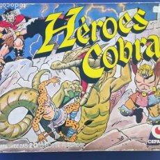 Puzzles: ROMPECABEZAS CEFA HEROES COBRA - INCLUYE LÁMINAS. Lote 213966041