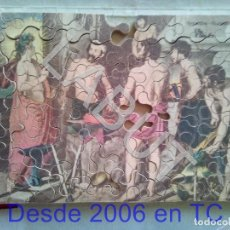 Puzzles: PUZZLE DE MADERA ANTIGUO GOYA FRAGUA DE VULCANO CEBRA. Lote 213982268