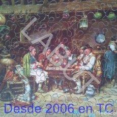 Puzzles: PUZZLE DE MADERA ANTIGUO GOYA ESCENA BATURRA CEBRA. Lote 213982322