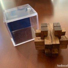 Puzzles: MINI PUZZLE DE MADERA 3D. Lote 216807220