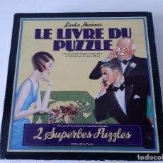 Puzzles: LE LIVRE DU PUZZLE - LIVRE + 2 PUZZLES - LIBRO HISTORIA DE LOS PUZZLES. Lote 216994377