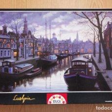 Puzzles: PUZZLE 1500 PIEZAS EDUCA – AMSTERDAM DE NOCHE, E. LUSHPIN. Lote 217160841