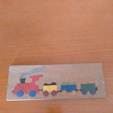 Puzzles: PUZZLE DE MADERA AÑOS 70. Lote 217589563
