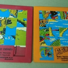 Puzzles: 2 PUZZLES ANDREFER AÑOS 80 20X17CM. Lote 217850923