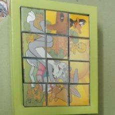 Puzzles: PUZZLE CUBOS DE PLASTICO DIBUJOS WARNER DE DALMAU NUEVO AÑOS 80. Lote 217852121