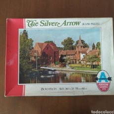 "Puzzles: JIGSAW PUZZLE ANTIGUO 1500 PIEZAS. ""THE SILVER ARROW"". ARROW GAMES LTD.. Lote 218570178"