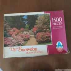 "Puzzles: ANTIGUO JIGSAW PUZZLE "" THE SNOWDON "" 1500 PIEZAS. ARROW GAMES LTD.. Lote 218573291"
