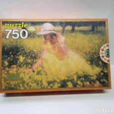 Puzzles: MUCHACHA EN EL CAMPO REF 7674 EDUCA PUZLE COMPLETO PRECINTADO. Lote 218719890