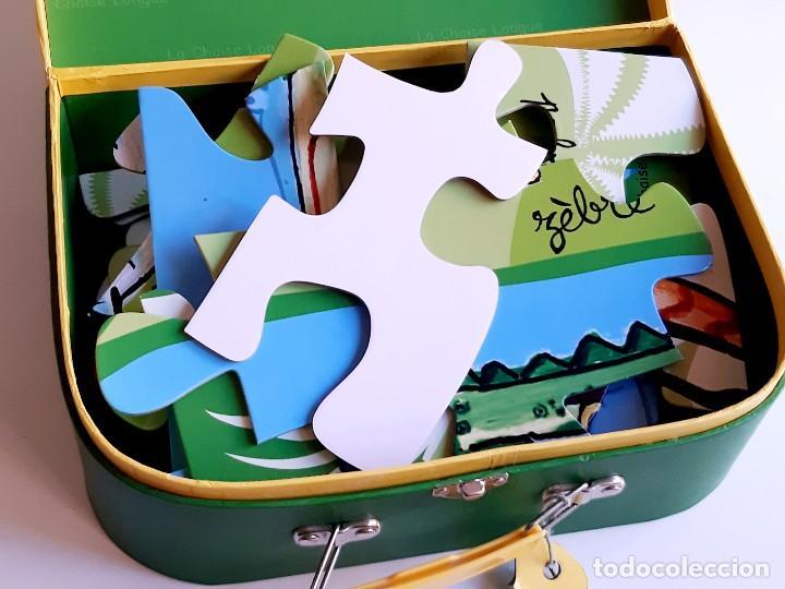 Puzzles: MALETIN PUZZLE DE PIEZAS GRANDES ANIMALES - Foto 5 - 218793858