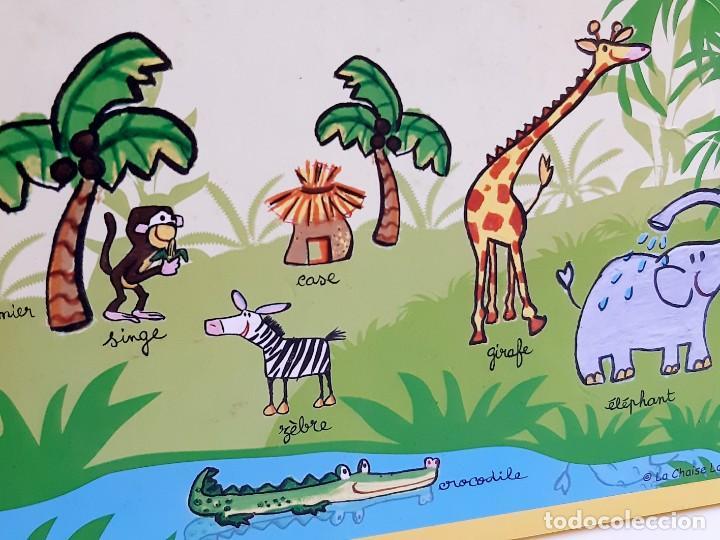 Puzzles: MALETIN PUZZLE DE PIEZAS GRANDES ANIMALES - Foto 7 - 218793858