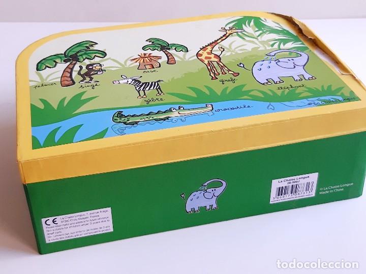 Puzzles: MALETIN PUZZLE DE PIEZAS GRANDES ANIMALES - Foto 9 - 218793858