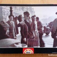 Puzzles: PUZZLE 1000 PIEZAS EDUCA – PUZLE EL BESO, R. DOISNEAU. Lote 219387623