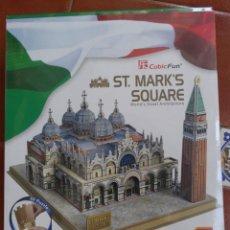 Puzzles: PUZZLE 3D DE LA BASILICA DE SAN MARCOS EN VENECIA. Lote 220232425