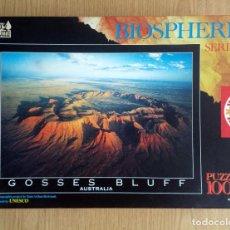 Puzzles: PUZZLE 1000 PIEZAS EDUCA SERIE BIOSFERE – PUZLE GOSSES BLUFF, AUSTRALIA.. Lote 220641683
