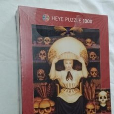 Puzzles: HEYE PUZZLE 1000 (DOUBLE VISION BY OCTAVIO OCAMPO) SKULL (N° 29238). Lote 220646661