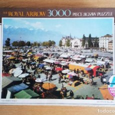 Puzzles: ANTIGUO PUZZLE 3000 PIEZAS THE ROYAL ARROW – THE MARKET PLACE.(SIN USAR). Lote 220965033