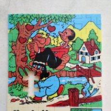 Puzzles: PUZZLE DE POPEYE Y OLIVA ( MUY RARO ) FALTA 1 PIEZA. Lote 221625630