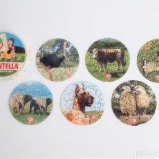 Puzzles: COLECCIÓN DE 6 PUZZLES PUZLES PROMOCIONALES LA FAUNA IBÉRICA DE QUESITOS MG MONTELLA. Lote 221630291