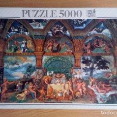 Puzzles: PUZZLE 5000 PIEZAS EDUCA – LE NOZZE DI PSICHE E CUPIDO, GIULIO ROMANO (DESCATALOGADO).. Lote 221726005