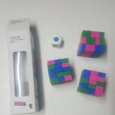 Puzzles: JUEGO DE LA TORRE EN MADERA JENGA COMPLETO. Lote 221726566