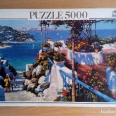 Puzzles: PUZZLE 5000 PIEZAS EDUCA – BALCONY IN PONZA, H BEHRENS.(DESCATALOGADO). Lote 221726675