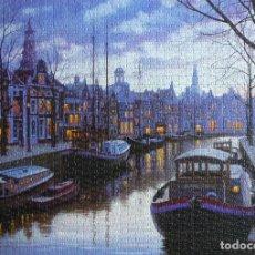 Puzzles: PUZZLE 1500 PIEZAS EDUCA – PUZLE AMSTERDAM DE NOCHE, E. LUSHPIN. Lote 217160841