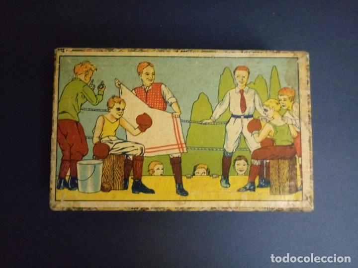 Puzzles: ANTIGUO PUZLE ROMPECABEZAS - NIÑOS BOXEANDO Y CINCO DIBUJOS MÁS - 20 CMS - Foto 2 - 221879346