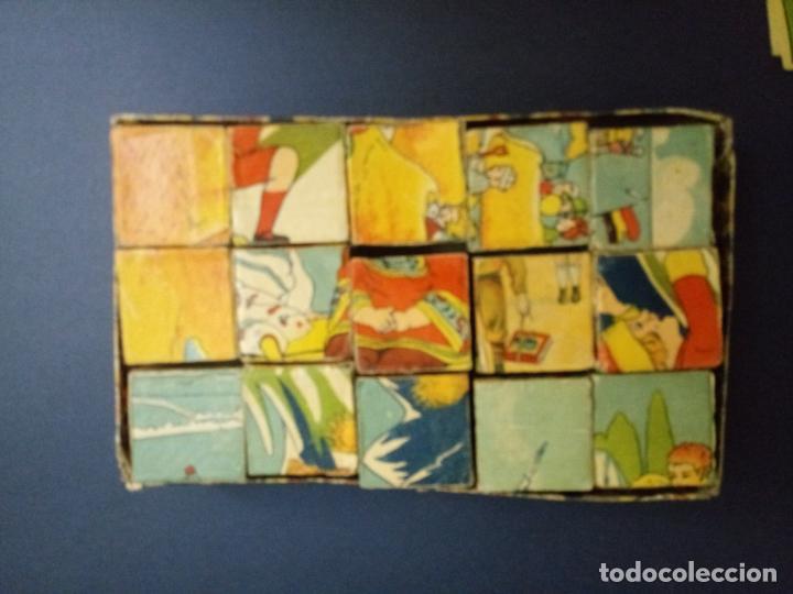 Puzzles: ANTIGUO PUZLE ROMPECABEZAS - NIÑOS BOXEANDO Y CINCO DIBUJOS MÁS - 20 CMS - Foto 3 - 221879346