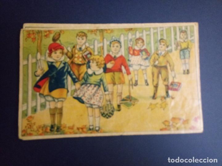 Puzzles: ANTIGUO PUZLE ROMPECABEZAS - NIÑOS BOXEANDO Y CINCO DIBUJOS MÁS - 20 CMS - Foto 6 - 221879346