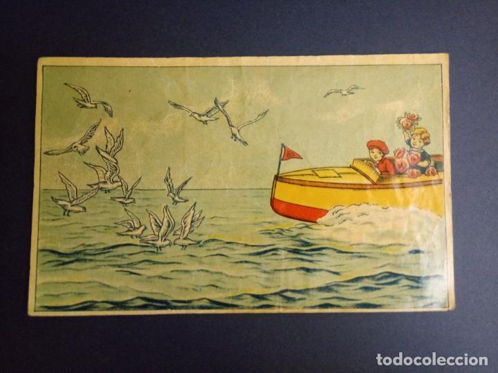 Puzzles: ANTIGUO PUZLE ROMPECABEZAS - NIÑOS BOXEANDO Y CINCO DIBUJOS MÁS - 20 CMS - Foto 7 - 221879346