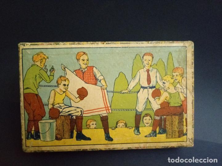 Puzzles: ANTIGUO PUZLE ROMPECABEZAS - NIÑOS BOXEANDO Y CINCO DIBUJOS MÁS - 20 CMS - Foto 9 - 221879346