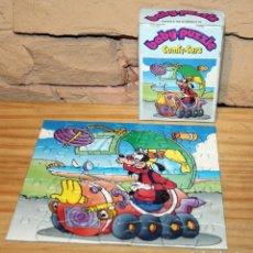 Puzzles: GOOFY EN COCHE - BABY PUZZLE, COMIC CARS - MIKA - AÑOS 70/80 - COMPLETO - EN SU CAJA. Lote 222080070