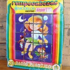 Puzzles: ANTIGUO ROMPECABEZAS DE CUBOS - SERIE DEPORTES - PIQUE - AÑOS 70. Lote 222144973