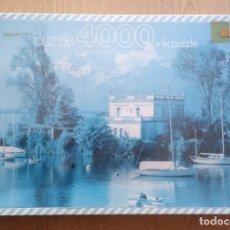 Puzzles: ANTIGUO PUZZLE 4000 PIEZAS EDUCA – LAGO LEMAN, SUIZA (DESCATALOGADO) SIN ABRIR. Lote 222783461